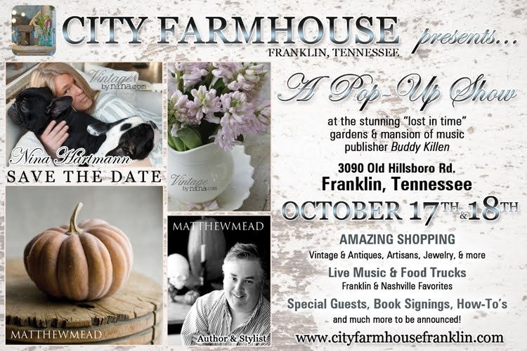 City Farmhouse Pop up Sale