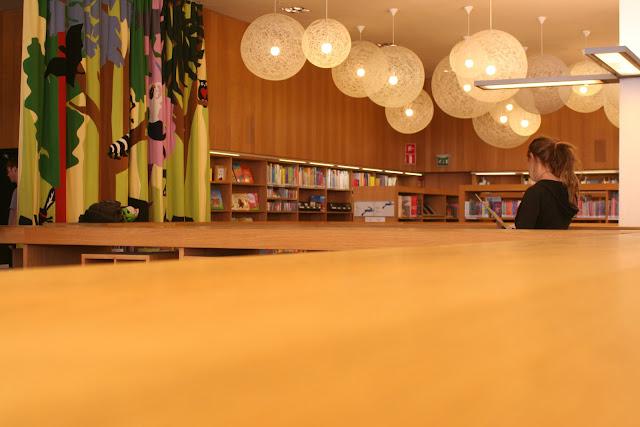 Turku Library children's section.