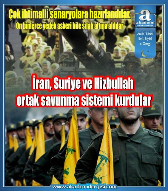 İran, Suriye ve Hizbullah ortak savunma sistemi kurdular