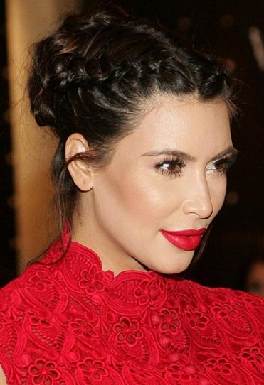 Mujer Estilo Y Belleza Los Peinados De Kim Kardashian