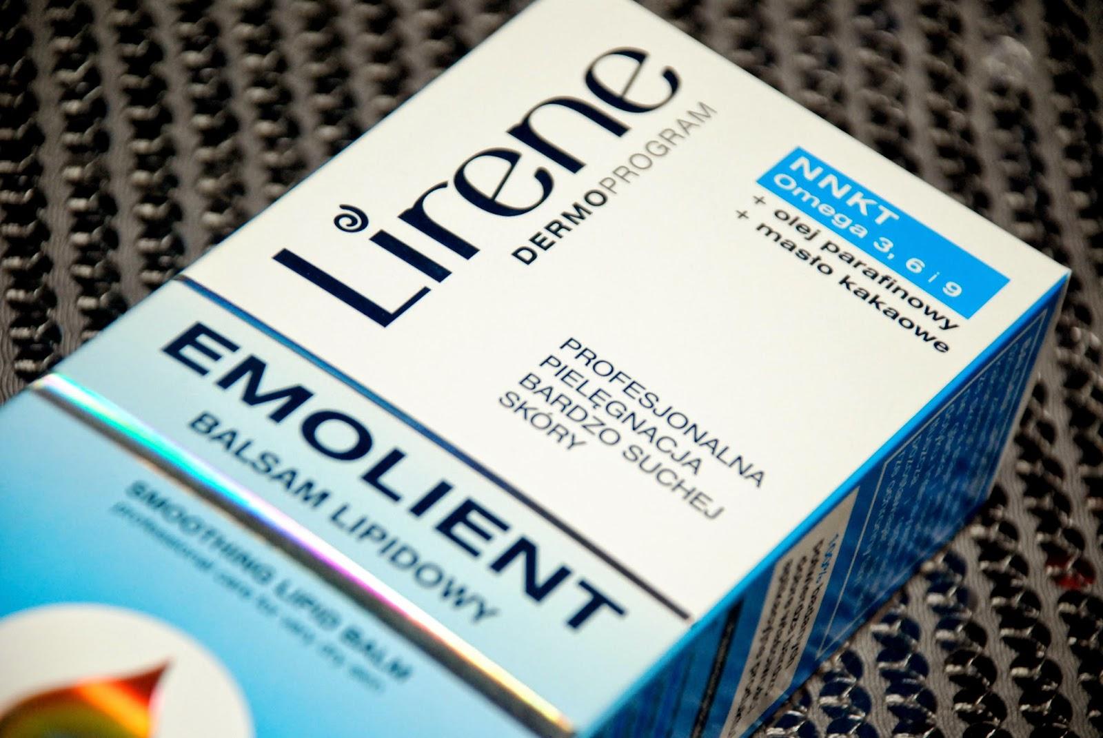 Emolienty Lirene - czyli coś bardzo dobrego dla suchej skóry.