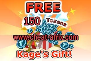 Claim Reward 150 Token Ninja Saga Juli 2013