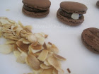 French Chocolate and Almond Macarons / Macarons Franais aux Chocolat et Amandes/Mac Attack #18