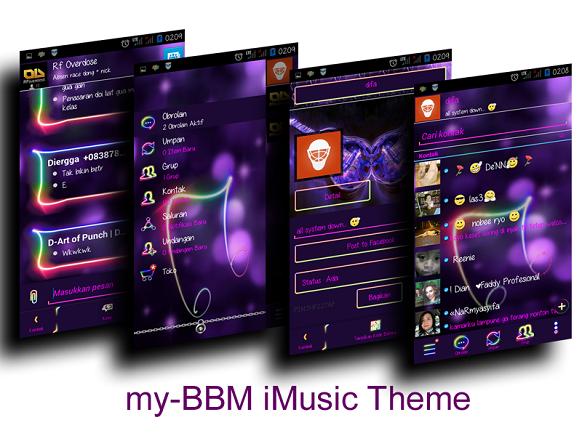 Unduh BBM Mod I-Music v2.7.0.23 Android APK