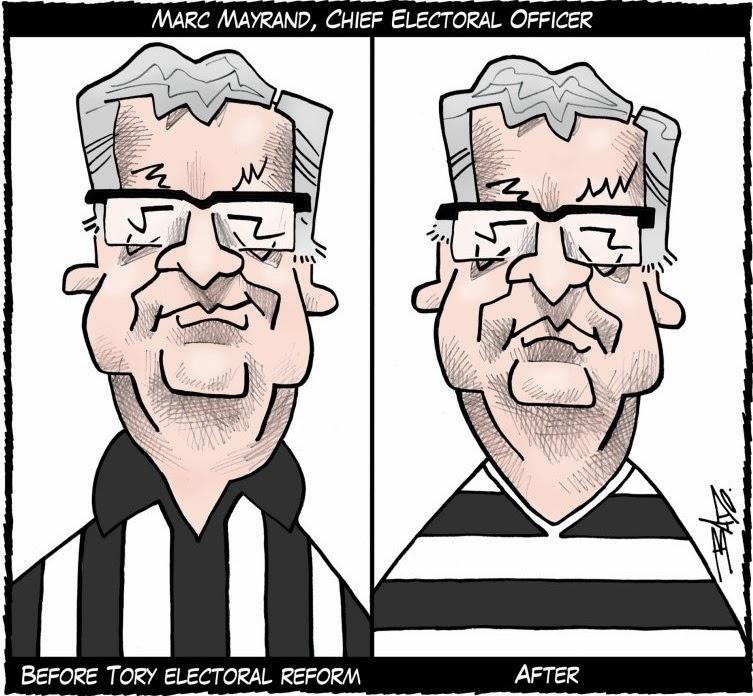 Bado: Marc Mayrand, Chief Electoral Officer.