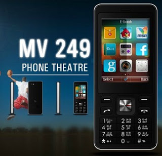 Fly MV249 Touch and Type Dual SIM Mobile