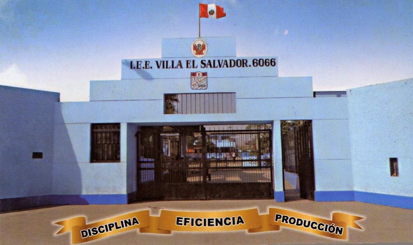 """I.E. """"VILLA EL SALVADOR"""" - Nº 6066"""