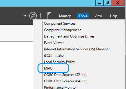 ms server 2016 how to connect to iscsi
