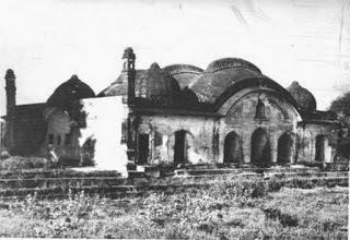 Burhanpur palace where Mumtaz died