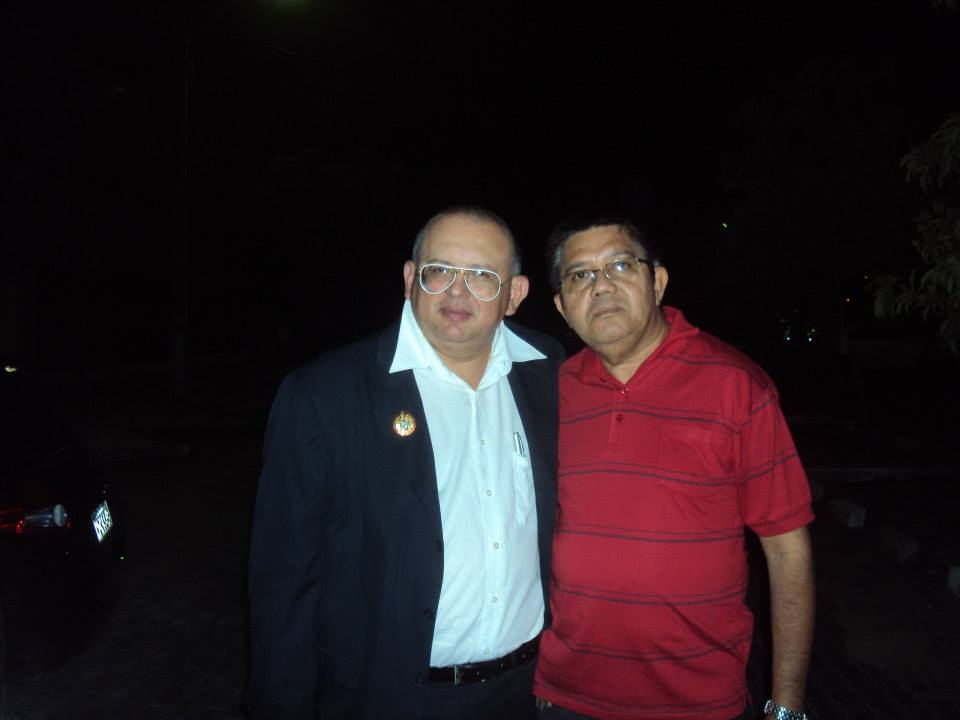 Dimas Carvalho e Inocêncio de Melo Filho