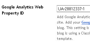 Memasang Google Analytic di Blogspot