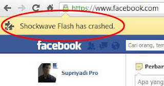 flash crashed