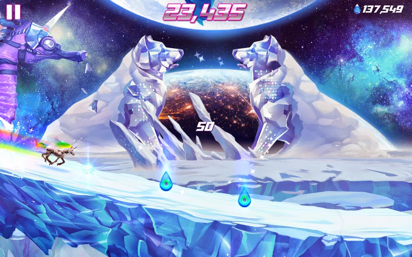 Robot Unicorn Attack 2 v1.6.2 Mod [Unlimited Everything]