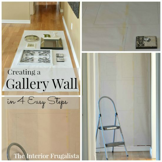 Creating a Collage Wall in four easy steps