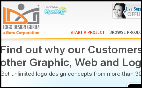 best logo design contest site