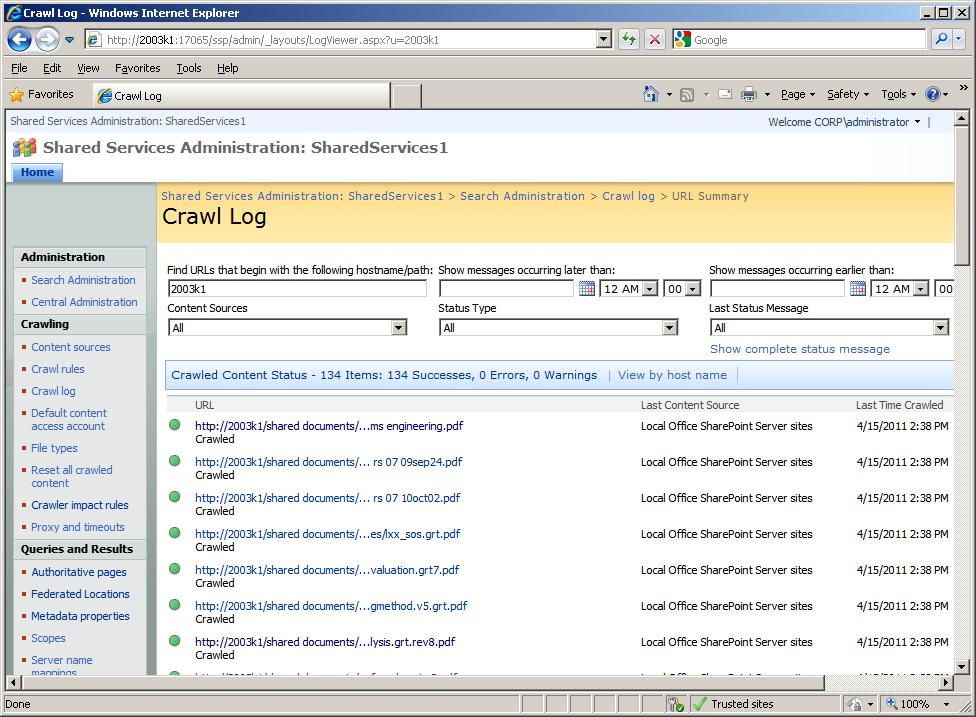 windows 7 search pdf keywords