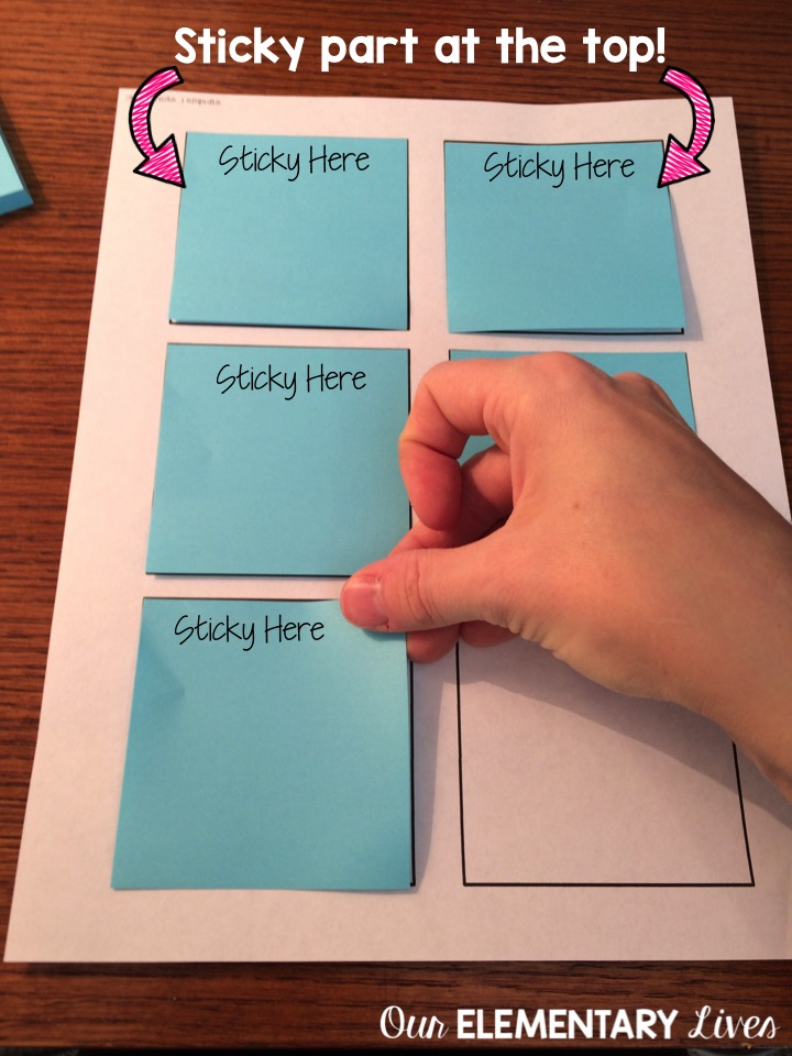 How To Print On Sticky Notes In 3 Easy Steps - Our Elementary Lives