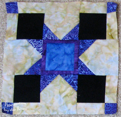 Magic Star Block for Aurifil at Freemotion by the River