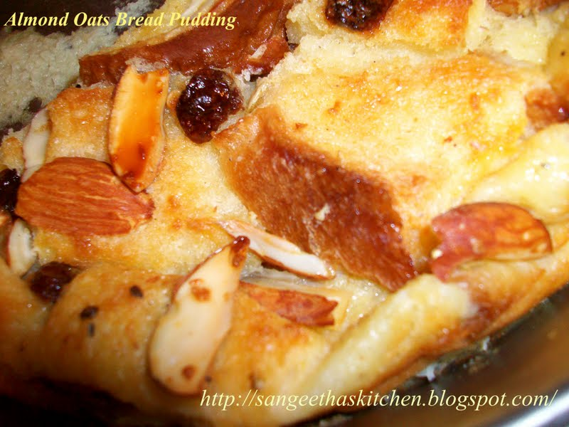 how to make bread pudding without baking