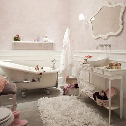 Copiando e Decorando Banheiro Provençal -> Pia De Banheiro Estilo Provencal