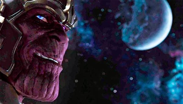 Thanos en Los Vengadores