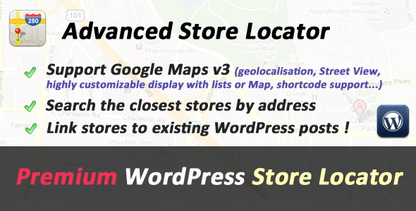 CodeCanyon - Advanced Store Locator for WordPress v1.9.2
