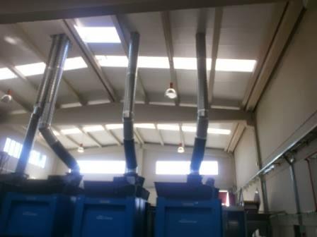 Extracción de vapor industrial