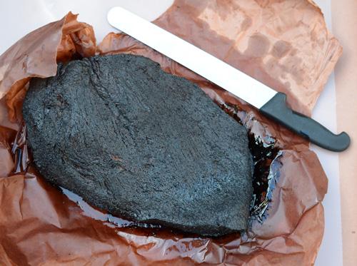 smoked beef brisket, butcher paper brisket, whole brisket