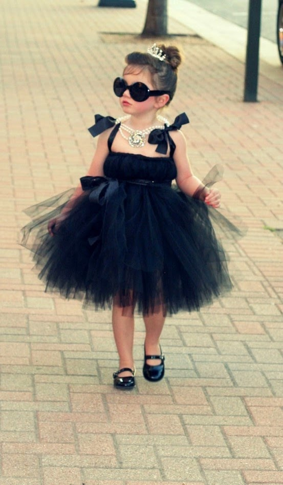 Toddler Audrey Hepburn Halloween costume
