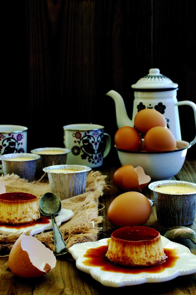 Flan de huevo el pastelito valiente flan de huevo - Como se hace el flan de huevo al bano maria ...