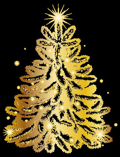 Arbol navidad dorado rbol de navidad verde con dorado - Arbol de navidad dorado ...