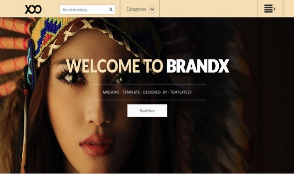 BranX Fashion Responsive Blogger Template