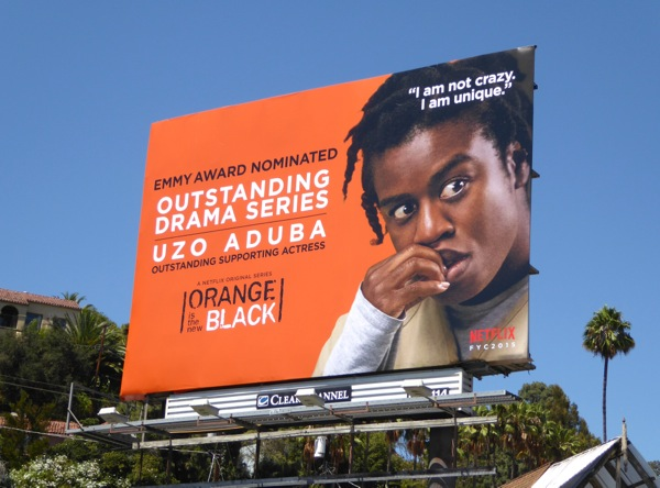 Orange is the New Black Uzo Aduba Emmy 2015 billboard