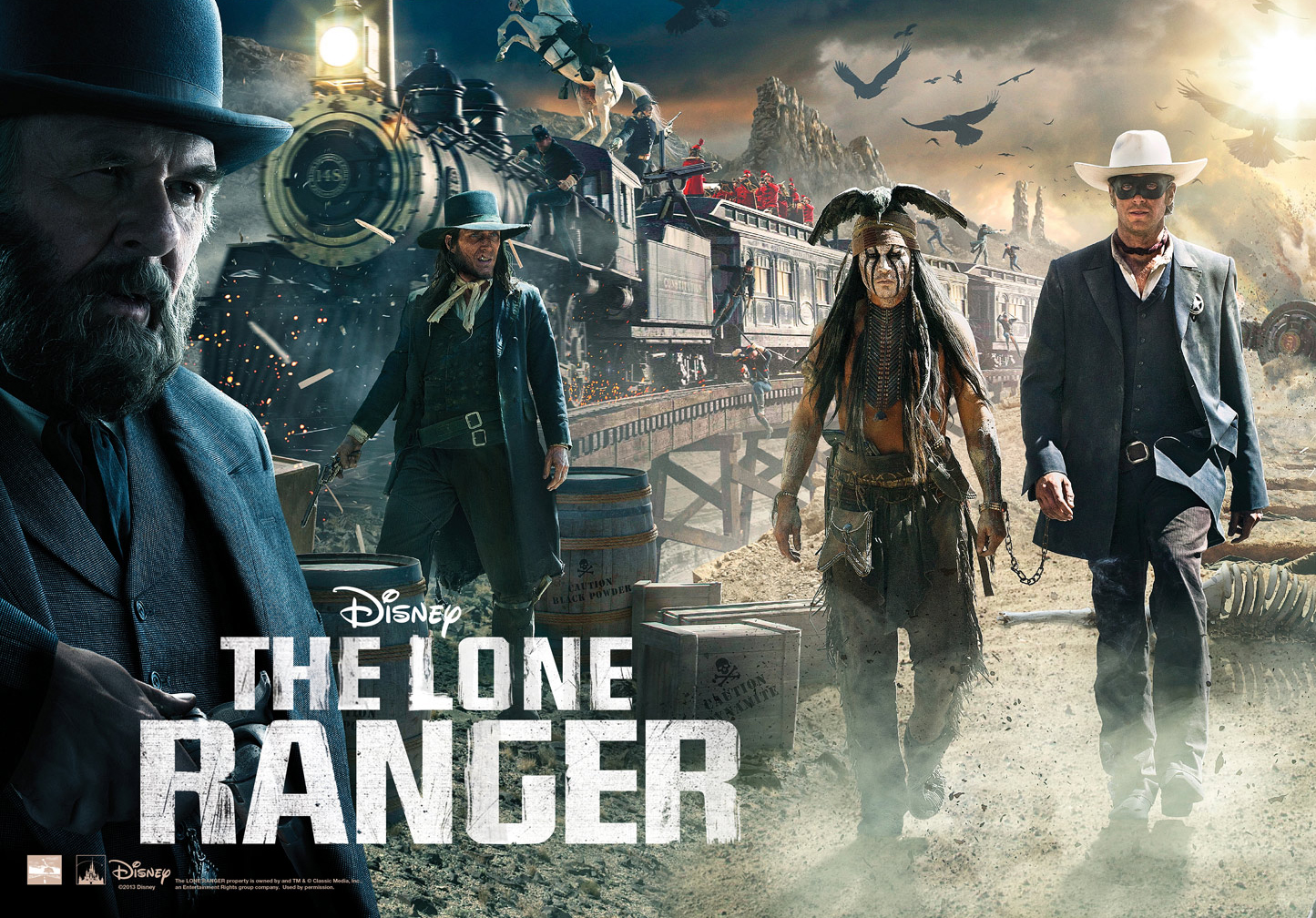 The Lone Ranger: New Trailer & Posters