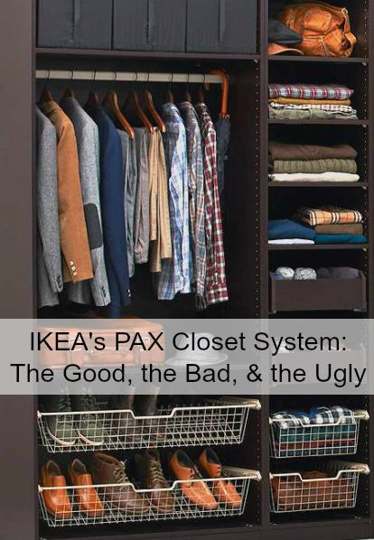 Cost of custom closet system home improvement for Ikea pax closet system
