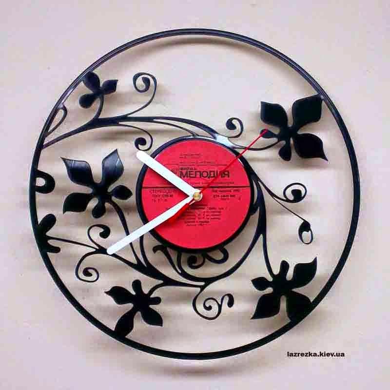 Часы из музыкальной пластинки Киев