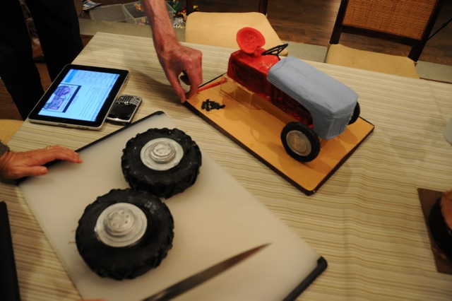 Little Tractor Cake
