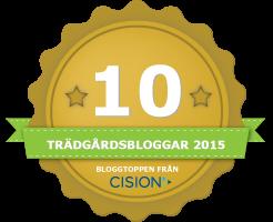 Cision har rankat årets trädgårdsbloggar