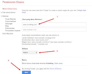 Cara Memasang Google CSE Pencarian di Blog
