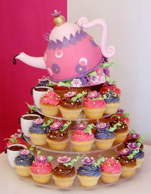 Brilliant Tea Party Cupcake Cake 500 x 642 · 49 kB · jpeg