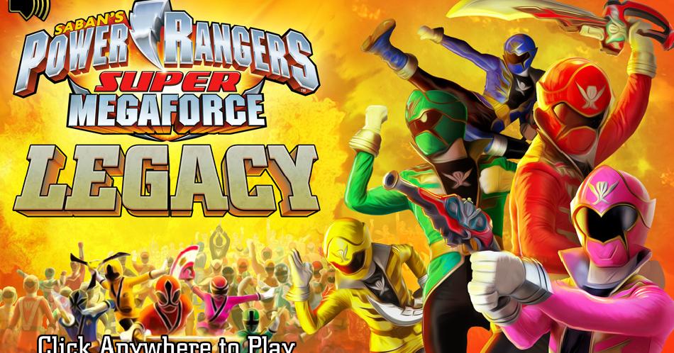 Henshin grid power rangers super megaforce legacy nick game - Jeux de power rangers super samurai ...