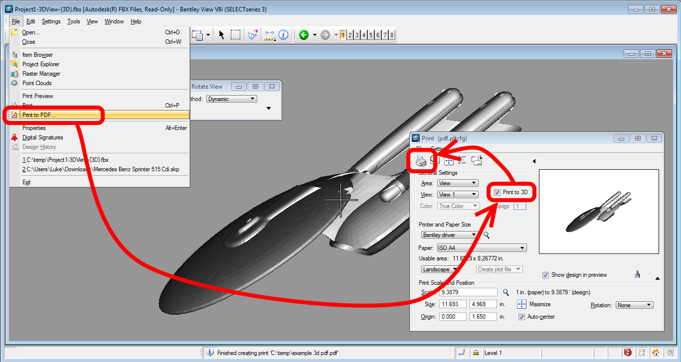 Creating 3d Pdfs From Navisworks And Revit Using Fbx
