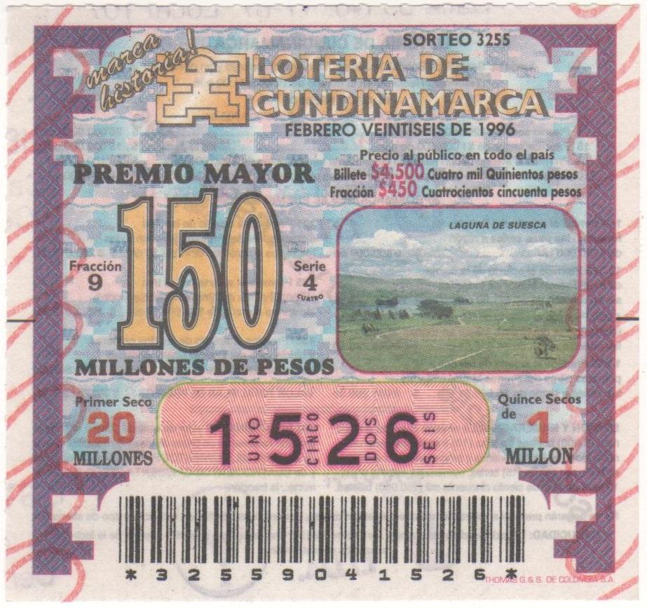 LOTERIAS DE COLOMBIA