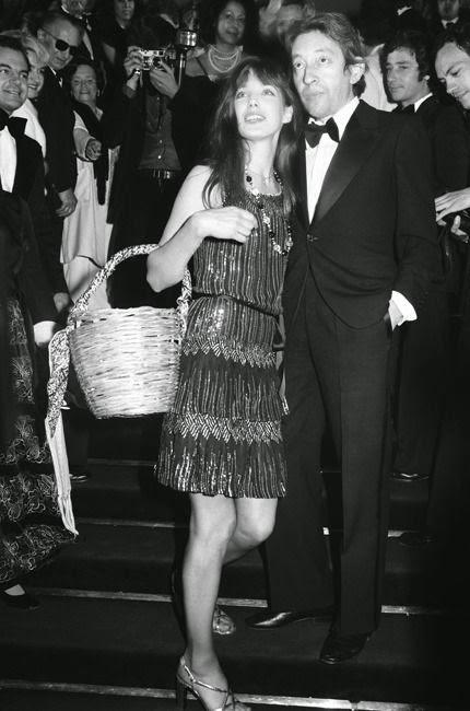 Jane Birkin, Serge Gainsbourg, black and white, style-icon