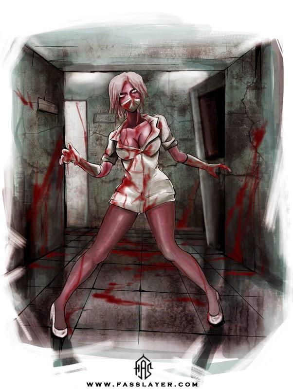 sexy zombie nun