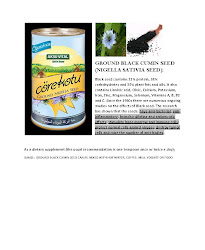 Ground Black Cumin Seed