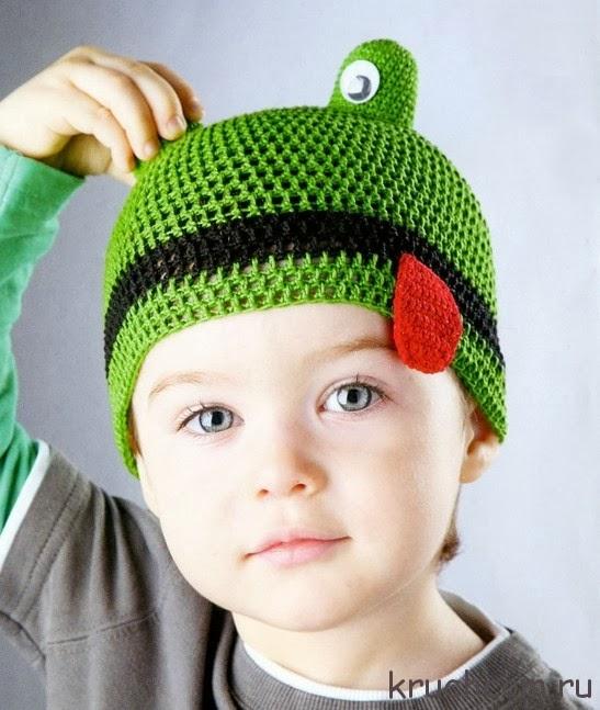 Вязание крючком летние шапочки для мальчиков
