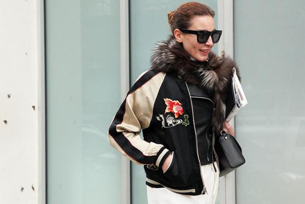 varsity jacket trend