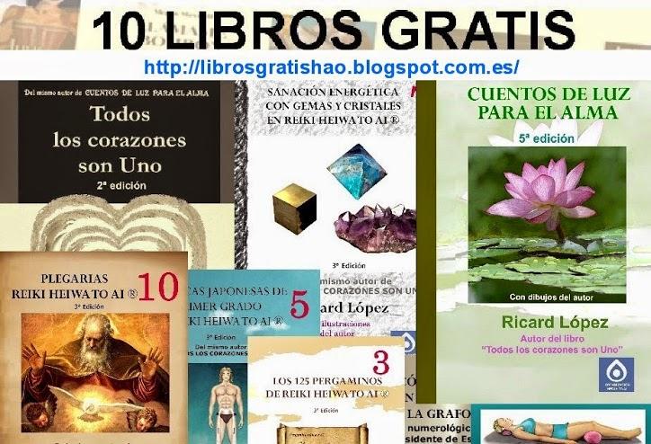 10 LIBROS DE REGALO