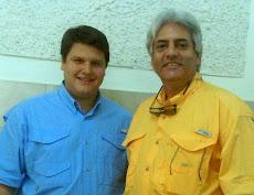 Conferencia seguridad UNE, Concejal Eduardo Battistini y Prof Juan Miguel Avalos